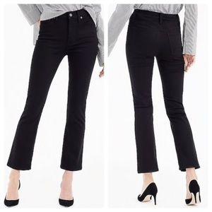 J. Crew Billie Demi-Boot High Rise Crop Jeans 30